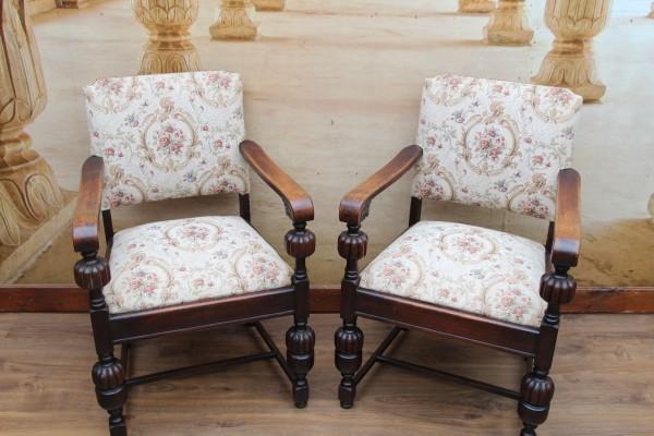 2 Gründerzeit Armlehnen-Stühle