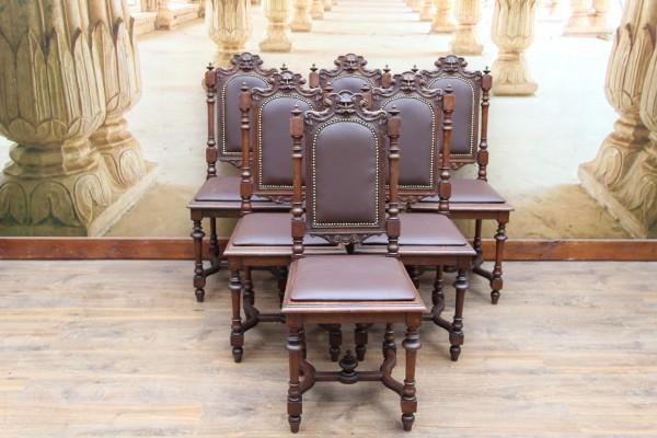 6 Gründerzeit Stühle - Hochlehner