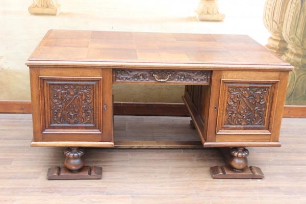 Art Deco Partner-Schreibtisch