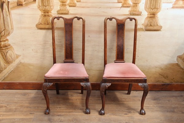 2 Jugendstil Stühle