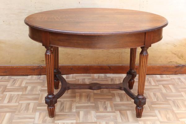 ovaler Gründerzeit Esstisch-Tisch