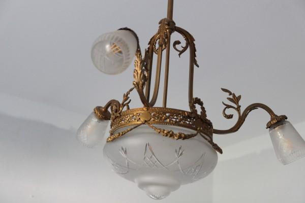 Gründerzeit Lampe - Kronleuchter