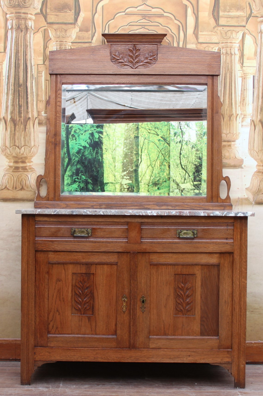 Jugendstil Spiegel Kommode | Antike Wohnträume