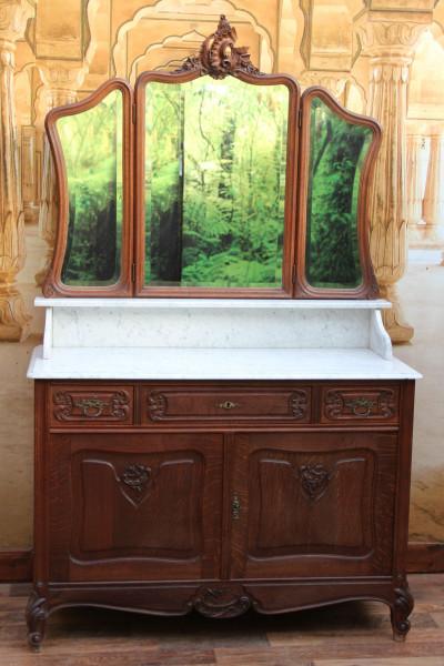 Barocke Spiegel Kommode
