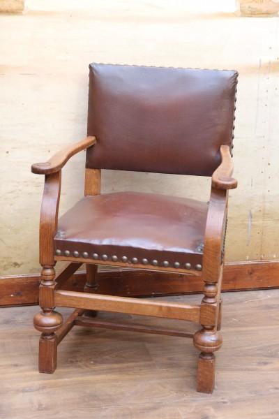 Gründerzeit Armlehnen-Stuhl - Bürosessel - Armlehnensessel