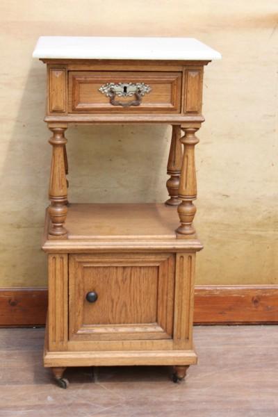 Gründerzeit Nachttisch - Beistelltisch