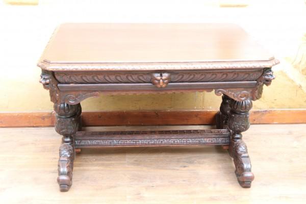 Gründerzeit Esstisch - Schreibtisch