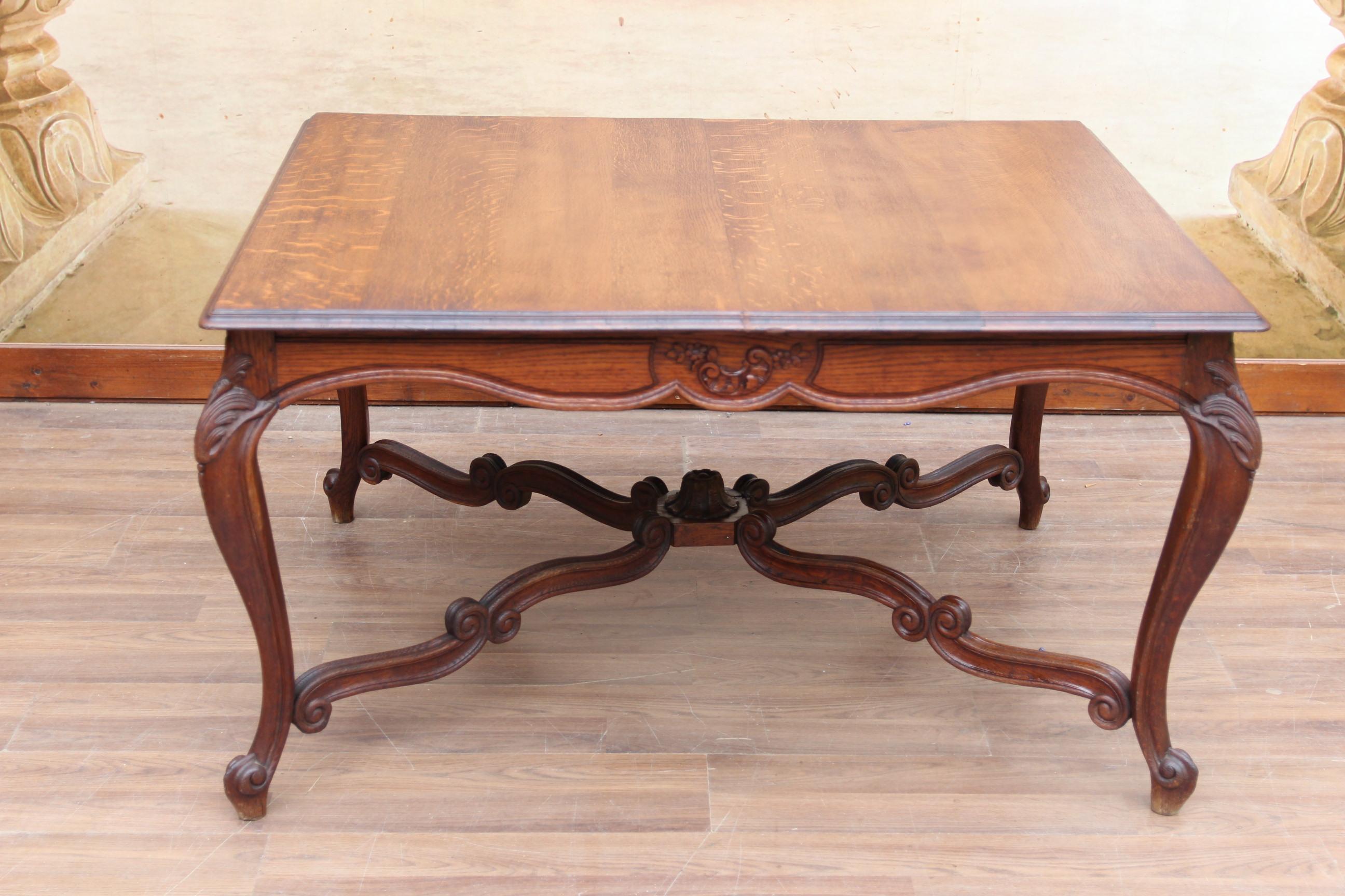 barock esstisch antike wohntr ume. Black Bedroom Furniture Sets. Home Design Ideas