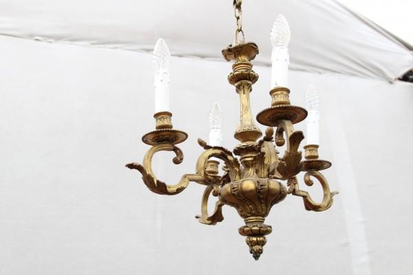 Gründerzeit Lampe - Kronleuchter - Deckenleuchter