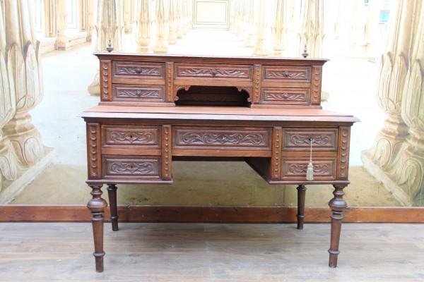 Gründerzeit Aufsatz Schreibtisch