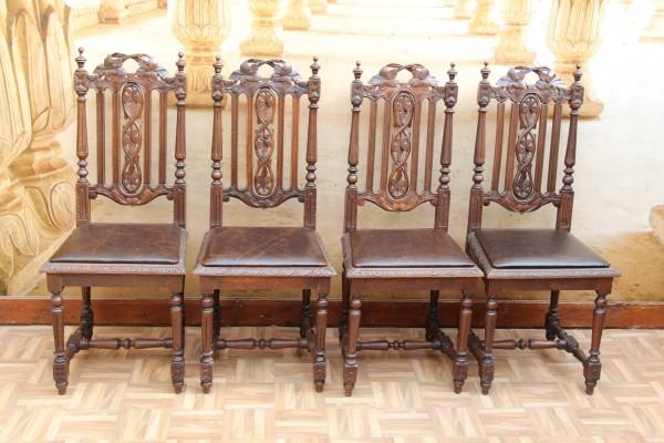4 Gründerzeit Stühle - Hochlehner